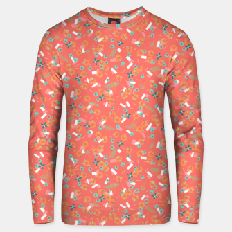 Miniatur Candy Camouflage in Coral Unisex sweater, Live Heroes