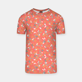 Miniatur Candy Camouflage in Coral T-shirt, Live Heroes