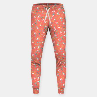 Miniatur Candy Camouflage in Coral Sweatpants, Live Heroes