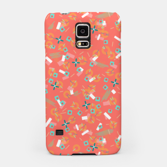 Miniatur Candy Camouflage in Coral Samsung Case, Live Heroes