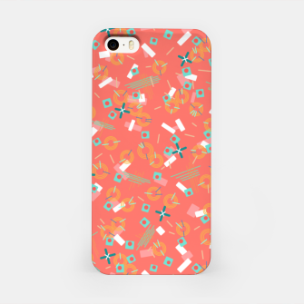 Miniatur Candy Camouflage in Coral iPhone Case, Live Heroes
