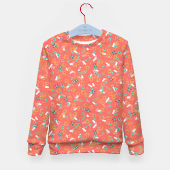 Miniatur Candy Camouflage in Coral Kid's sweater, Live Heroes