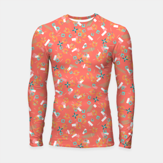 Miniatur Candy Camouflage in Coral Longsleeve rashguard , Live Heroes