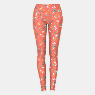 Miniatur Candy Camouflage in Coral Leggings, Live Heroes