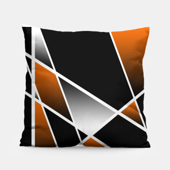 Thumbnail image of Bronze Abstract Pillow, Live Heroes