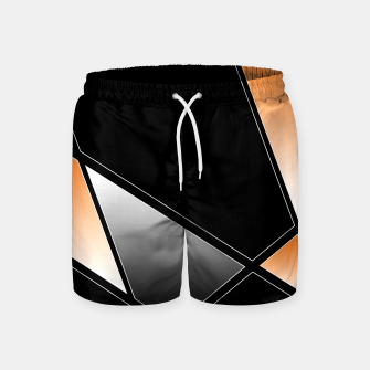 Thumbnail image of Golden Abstract Swim Shorts, Live Heroes