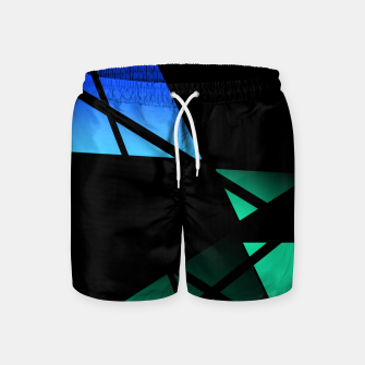 Thumbnail image of Window Abstract Swim Shorts, Live Heroes