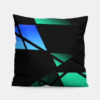 Thumbnail image of Window Abstract Pillow, Live Heroes