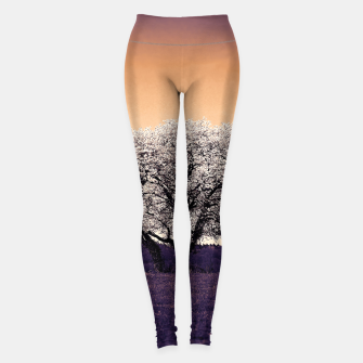 Thumbnail image of the lonely tree ls Leggings, Live Heroes