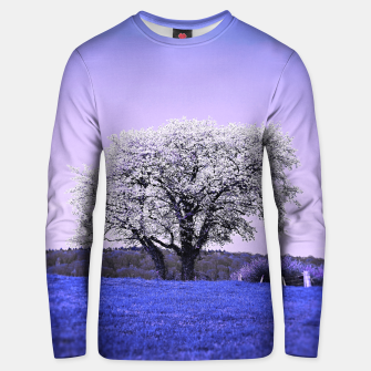 Thumbnail image of the lonely tree db Unisex sweater, Live Heroes