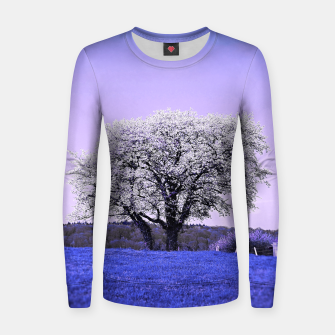 Thumbnail image of the lonely tree db Women sweater, Live Heroes