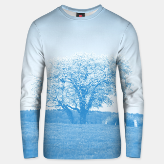 Thumbnail image of the lonely tree wb Unisex sweater, Live Heroes