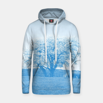 Thumbnail image of the lonely tree wb Hoodie, Live Heroes