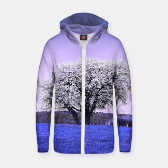 Thumbnail image of the lonely tree db Zip up hoodie, Live Heroes