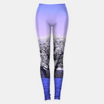 Thumbnail image of the lonely tree db Leggings, Live Heroes