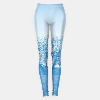 Thumbnail image of the lonely tree wb Leggings, Live Heroes