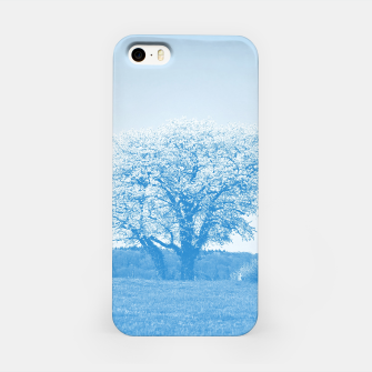 Thumbnail image of the lonely tree wb iPhone Case, Live Heroes