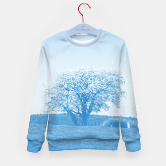 Thumbnail image of the lonely tree wb Kid's sweater, Live Heroes