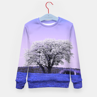 Thumbnail image of the lonely tree db Kid's sweater, Live Heroes