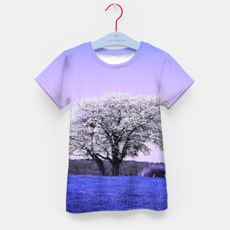 Thumbnail image of the lonely tree db Kid's t-shirt, Live Heroes