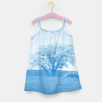 Thumbnail image of the lonely tree wb Girl's dress, Live Heroes