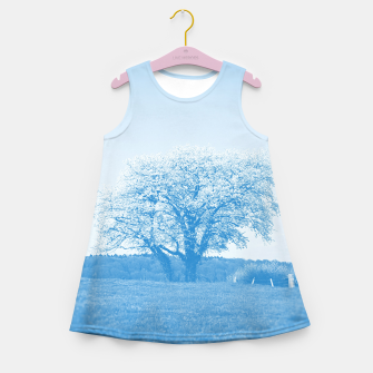 Thumbnail image of the lonely tree wb Girl's summer dress, Live Heroes