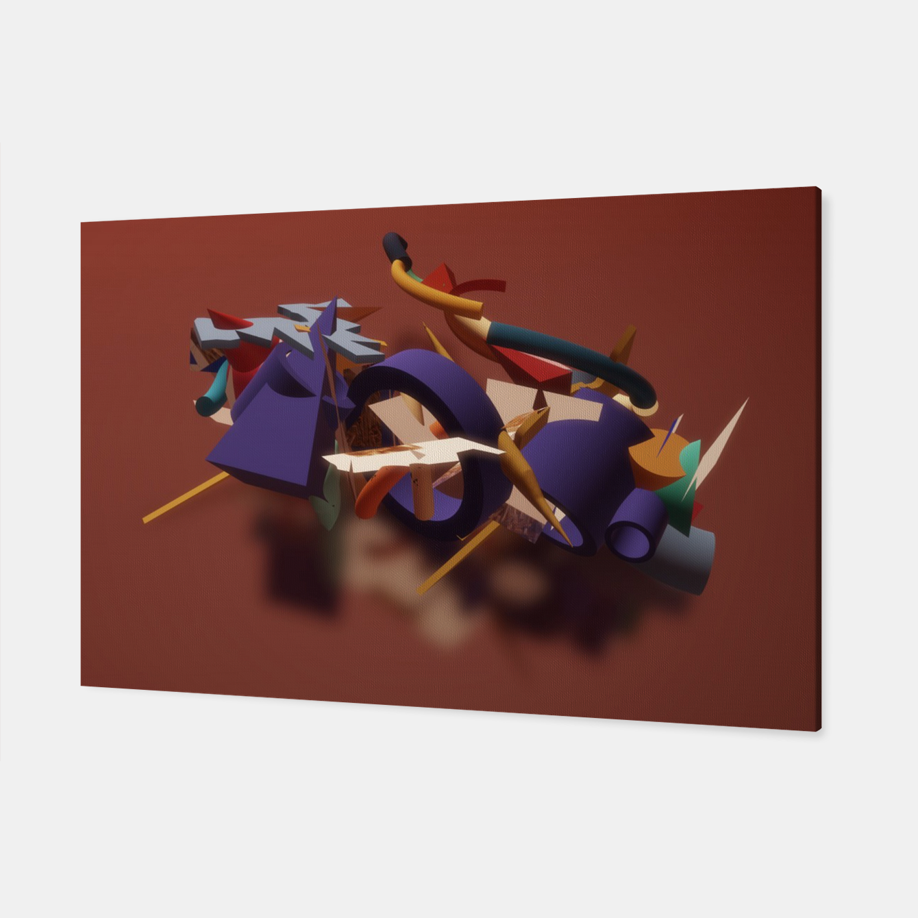 Image of 3D Construction Canvas - Live Heroes