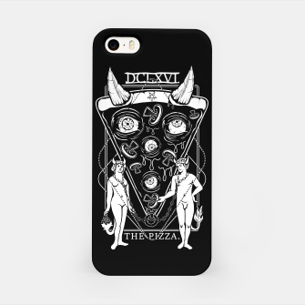 Thumbnail image of Pizza Demon Tarot Card iPhone Case, Live Heroes