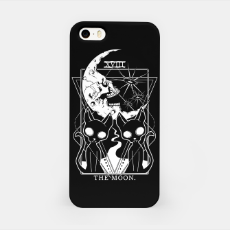 Thumbnail image of The Moon Tarot Card iPhone Case, Live Heroes