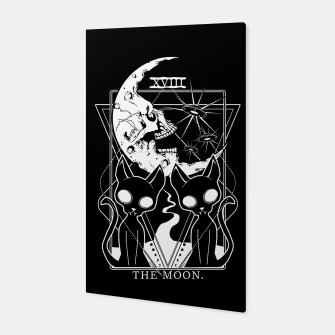 Thumbnail image of The Moon Tarot Card Canvas, Live Heroes