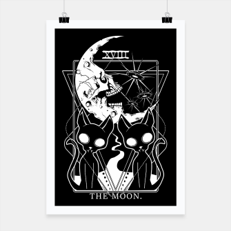 Thumbnail image of The Moon Tarot Card Poster, Live Heroes