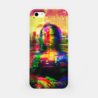 Digi Mona Lisa III iPhone Case obraz miniatury