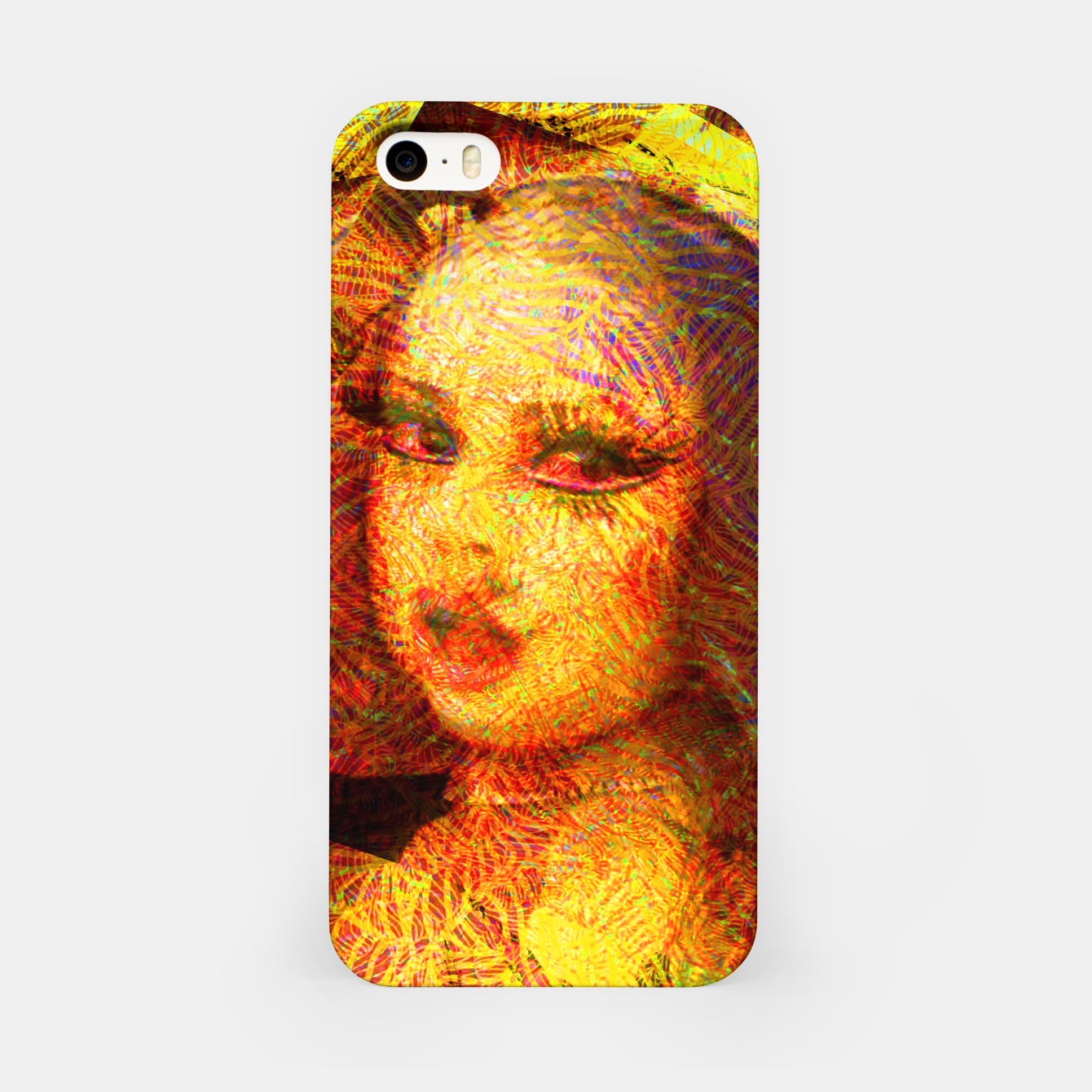 Image of fame  iPhone Case - Live Heroes