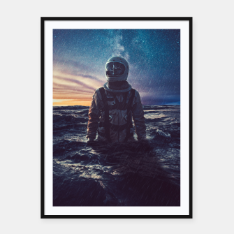 Thumbnail image of Stranded Framed poster, Live Heroes