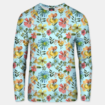 Thumbnail image of Miss Morocco Pale blue Unisex sweater, Live Heroes