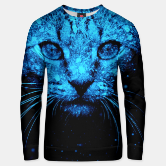 Snow Cat Unisex sweater thumbnail image