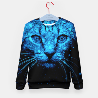 Snow Cat Kid's sweater thumbnail image