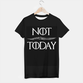 Thumbnail image of Not Today T-shirt regular, Live Heroes