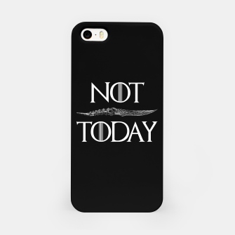 Not Today iPhone Case thumbnail image