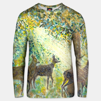 Thumbnail image of Adorable deers Unisex sweater, Live Heroes