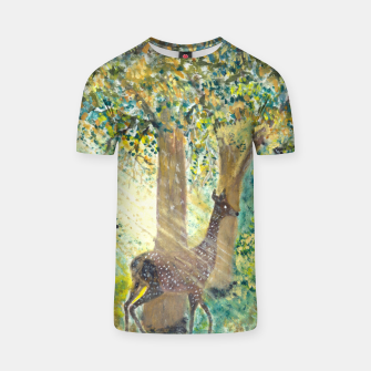 Thumbnail image of Adorable deers T-shirt, Live Heroes