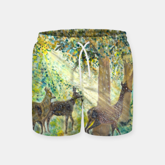 Thumbnail image of Adorable deers Swim Shorts, Live Heroes