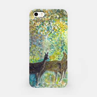 Thumbnail image of Adorable deers iPhone Case, Live Heroes