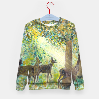 Thumbnail image of Adorable deers Kid's sweater, Live Heroes