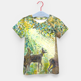 Thumbnail image of Adorable deers Kid's t-shirt, Live Heroes
