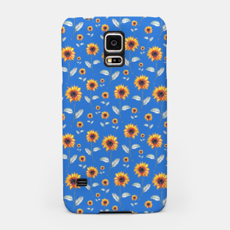 Thumbnail image of Sunflowers-Blue Samsung Case, Live Heroes