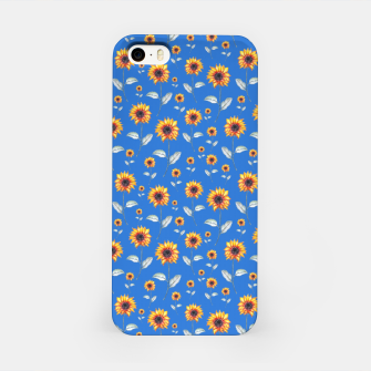 Thumbnail image of Sunflowers-Blue iPhone Case, Live Heroes