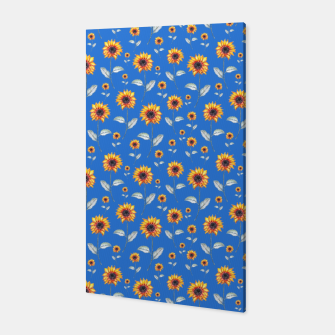 Thumbnail image of Sunflowers-Blue Canvas, Live Heroes
