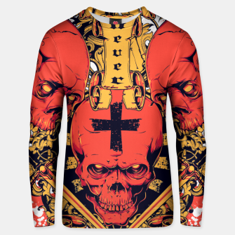 Thumbnail image of 3 DEVILS Unisex sweater, Live Heroes