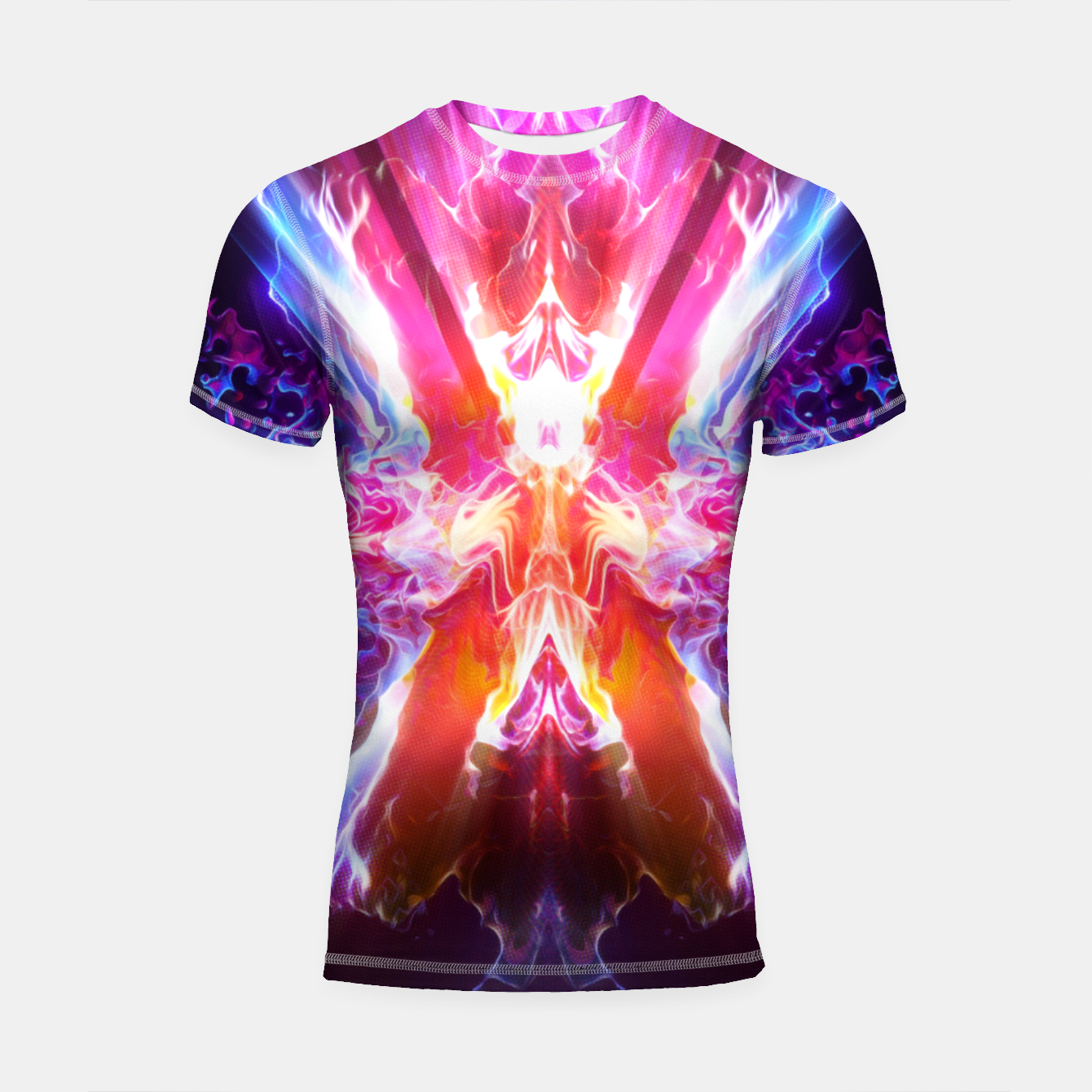 Image of Weird Energy Shortsleeve rashguard - Live Heroes